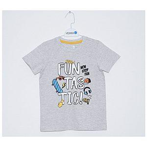 Fantovska majica na kratek rokav Venere T-shirt Grey ice