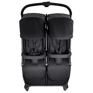 SWIFT X DUO Black - otroški voziček za dvojčke