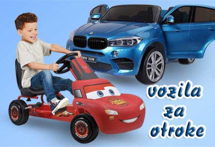 Najboljša izbira vozil za otroke