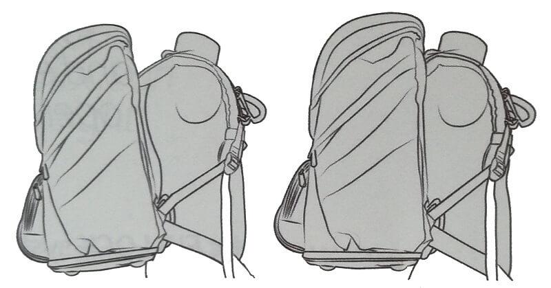 Pravilno nošenje šolske torbe
